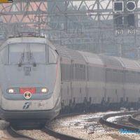 EurostarCity Lecce-Milano in arrivo a Rimini MC2009, Римини