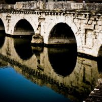 the same as it was almost 2000 years ago - THE DEVILS BRIDGE (local legend), Римини