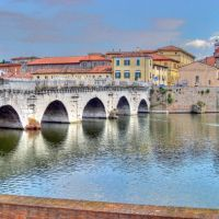 Rimini. Ponte di Tiberio, Римини