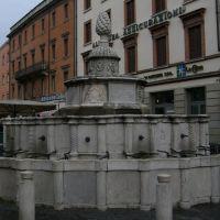 Rimini - La Fontana della Pigna, Римини