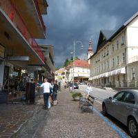 Via Vittorio Veneto, Tarvisio, Italy, 18-06-2011., Тарвизио