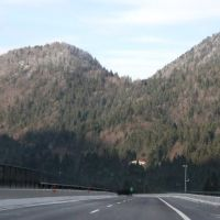 Дорога в горах, Тарвизио