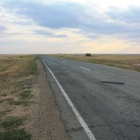 Трасса Домбаровский - Ясный. В направлении Домбаровского, Карабутак