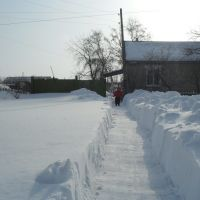мой дом зимой 2010г, Мартук