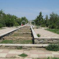 Old fountain, Khromtau, Хромтау