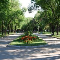 Парк Есентай, Алма-Ата