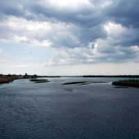 the Ili river, Баканас