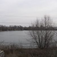 Озеро в Боралдае/Lake in Boralday, Бурундай