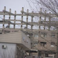 Заброшенная многоэтажка/Abandoned living block, Бурундай