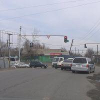 Перекресток в Боралдае/Crossroads in Boralday, Бурундай