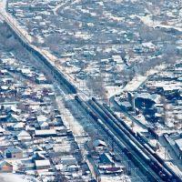 Станция Боралдай. Казахстан, Алматинская область, 08.12.2012, Бурундай