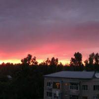 Реальный цвет заката. Почти нет искажения., Бурундай