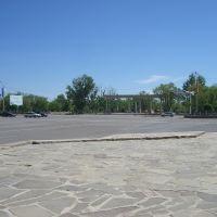 городская площадь, Капчагай