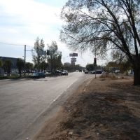 Вид на ул. Алматинскую, Капчагай