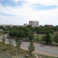Küçük şehir, Капчагай