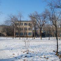 3-ий микрорайон, 4 школа, обратная сторона, Капчагай