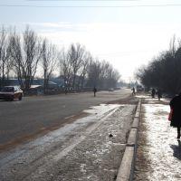 """Канал """"Шошкалысай"""", вид с моста в сторону УПК, Капчагай"""