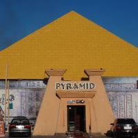 Kazakhstan, Kapсhagay,  Pyramid slot club-casino, Капчагай