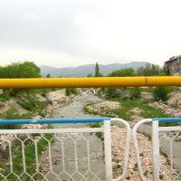 На мосту реки каскеленки, Каскелен