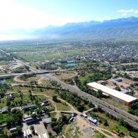 highway Almaty-Tashkent, Каскелен