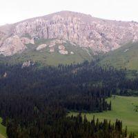 В горах Нарынкола, Заилийское  Алатау, Нарынкол