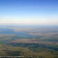 Панорама Шульбинского водохранилища, Алексеевка