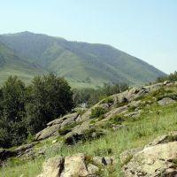 """Асубулак вид на гору """"телевышка"""", Асубулак"""