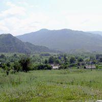 Асубулак вид на посёлок, Асубулак