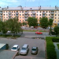 from 2. floor of Hotel Ust Kamenogorsk, Белогорский