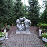Парк Жастар (июль 2012г.), Белогорский