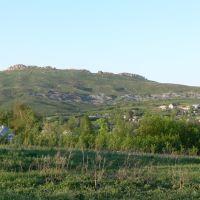 Вид с ул.Алтайской на Гребенюшку., Белоусовка