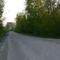 Дорога в Глубокое., Белоусовка