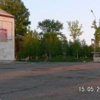 Бывший Универмаг( слева), Белоусовка