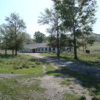 село Перевальное, бывшая контора Березовской ГРП, Верхнеберезовский