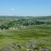 Село Перевальное, вид с горы Пиковка, Верхнеберезовский
