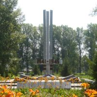 Zyryanovsk, Monument-Монумент Воинам, Зыряновск