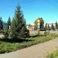У центральной площади, Зыряновск