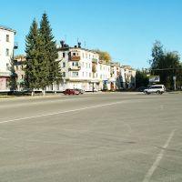 Площадь в месте пересечения Ленина и Советской, Зыряновск