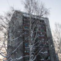 Вторая девятиэтажка от бульвара Бурнашева по Жаксыбаева, Зыряновск