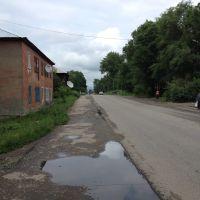 г. Риддер, июль 2014 года, ул. Ауэзова, Лениногорск