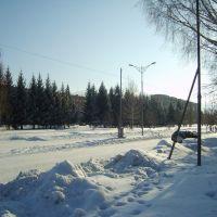 Аллея между 3-м и 4-м микрорайонами, Лениногорск