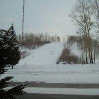Лыжный спуск, Лениногорск