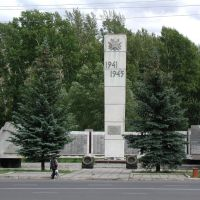 Стэлла Учасникам ВОВ, Лениногорск
