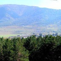 Вид с Соколка на юго-восток, Лениногорск