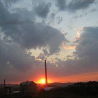 Закат над городом август 2007, Самарское