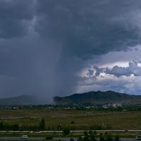 strong rain on Ablaketka area, Самарское