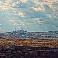 ЖД и телевышка, Самарское