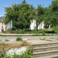 Площадь. Вид от гостиницы :-), Серебрянск