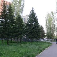 На набережной., Усть-Каменогорск