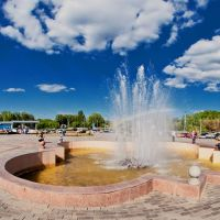 fountain, Усть-Каменогорск
